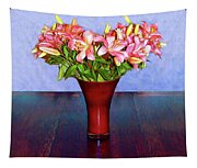 Spring Bouquet Tapestry