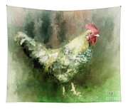 Spring Chicken Tapestry