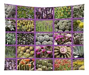 Spring Desert Collage Tapestry