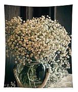 Spring Flower Arrangement Tapestry