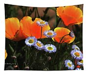 Spring Flowers In Payson Arizona Tapestry