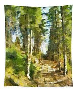Spring Forest Tapestry