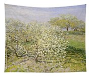 Spring. Fruit Trees In Bloom Tapestry