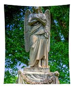 Spring Grove Angel Statue Tapestry