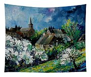 Spring In Fays Famenne Tapestry