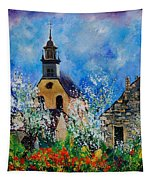 Spring In Foy Notre Dame Dinant Tapestry