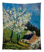 Spring In Hierges  Tapestry