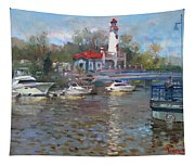 Spring In Lake Shore Tapestry