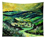 Spring In Tha Ardennes Tapestry