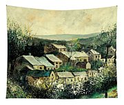 Spring In The Ardennes Belgium Tapestry