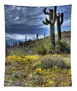 Spring In The Desert  Tapestry