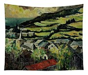 Spring In Vresse Ardennes Belgium Tapestry