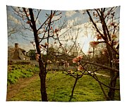 Spring Orchard In Williamsburg Tapestry