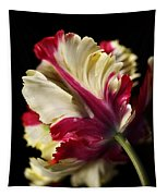 Spring Parrot Tulip Tapestry