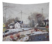 Spring Snowfall Tapestry