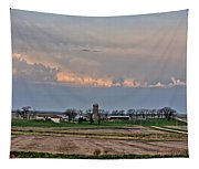 Spring Storms Farm 2 Tapestry