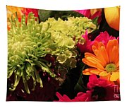 Spring/summer Bouquet - Flowers Tapestry