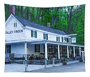 Springtime At The Valley Green Inn Tapestry