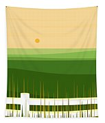 Springtime In The Rolling Hills Tapestry