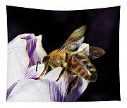 Springtime Visitor Tapestry