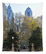 Sprintime At Rittenhouse Square Tapestry
