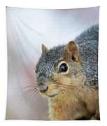 Squirrel Portrait Tapestry