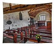 St Celynnin Church  Interior Tapestry