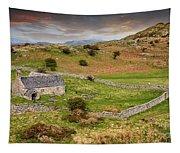 St Celynnin Church Sunset Tapestry