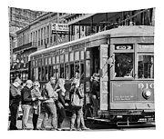 St. Charles Streetcar Tapestry