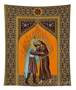 St. Francis And The Sultan - Rlsul Tapestry