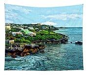 St. George Bermuda Shoreline Tapestry