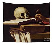 St. Jerome Writing Tapestry