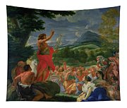 St John The Baptist Preaching Tapestry
