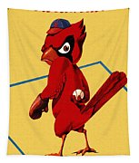 St. Louis Cardinals Vintage 1956 Program Tapestry