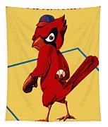 St. Louis Cardinals Vintage 1956 Program Tapestry