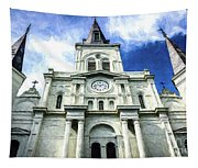 St. Louis Cathedral - Nola- Art Tapestry