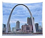 St Louis Panoramic View Tapestry
