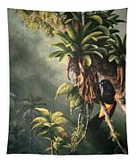 St. Lucia Oriole In Bromeliads Tapestry