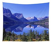 St Mary Lake Glacier National Park Mt Tapestry