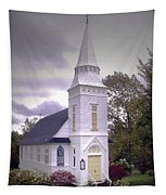 St. Mathews Chapel In Sugar Hill Tapestry