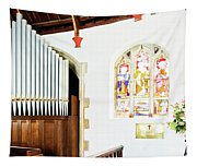 St Mylor Organ Pipes Tapestry