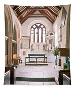 St Mylor South Aisle Chapel. Tapestry