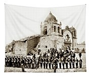 St. Patrick's Cadets On The Third Of July, 1882 At The  Tapestry
