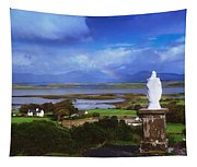 St Patricks Statue, Co Mayo, Ireland Tapestry