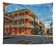 St Peter St New Orleans Tapestry