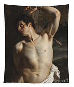 St. Sebastian Painting by Hippolyte Paul Delaroche