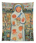 St. Teresa Of Kolkata Tapestry