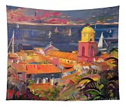 St Tropez Sailing Tapestry
