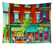 St Viateur Bagel Shop Tapestry