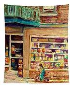 St Viateur Street Montreal  Tapestry